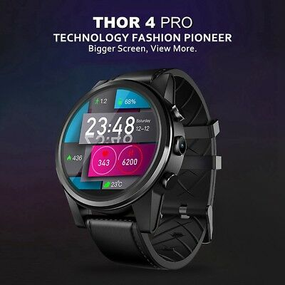 Zeblaze THOR4 PRO Smart Bluetooth 4.0 Watch Heart Rate Monitor 4G Wifi Bracelet