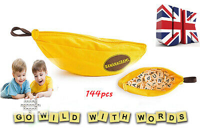 Bananagrams Game Educational Spelling Word Funny Travel Play Board Toys  Puzzle