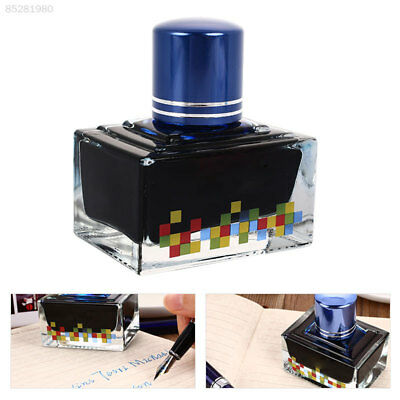 E669 Glass Bottle Ink Liquid 12 Colors Calligraphy Fountain Pen Ink Office