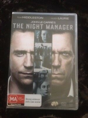 THE NIGHT MANAGER : SEASON 1 (DVD, 2016, 2-Disc Set) BRAND NEW - TOM HIDDLESTON,