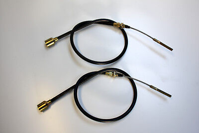 2 Pcs Bowden Cable Brake Cable F Knott 300x60 Hl = 1400 Gl = 1660 Trailer