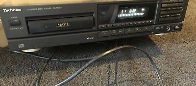 technics MASH CD PLAYER High End Compac Disc Player SL-PG300 Working Well