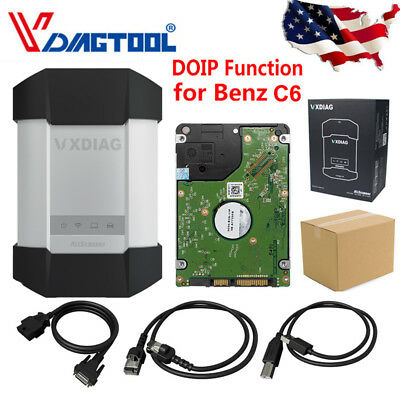 VXDIAG C6 DIAGNOSTIC Tool For XENTRY Code Reader VCI For Mercedes