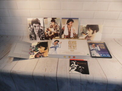 Elvis Presley --Thats The Way it is --Special Edition DVD Box Set + other