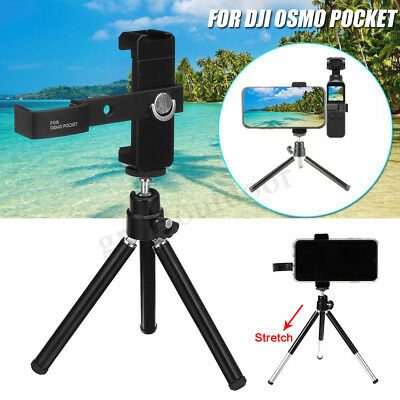 AU Tripod  Bracket Mount Phone Holder Extended For DJI OSMO Pocket Accessory