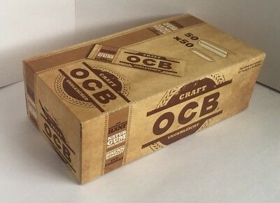 OCB ORGANIC CRAFT UNBLEACHED Regular size Rolling paper 70mm