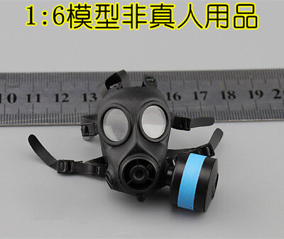 1:6 WWII Pig Nose Gas Mask 1pc Army Green Fit 12/'/' Man Women Female Head Model