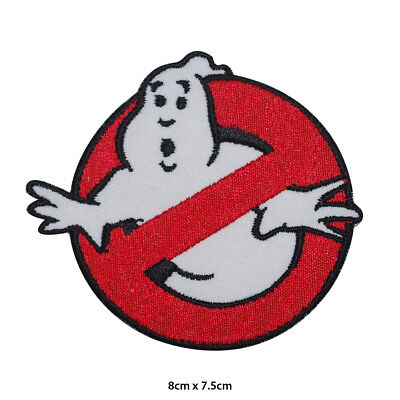 Ghost Buster Movie Embroidered Patch Iron on Sew On Badge For Clothes Bag etc