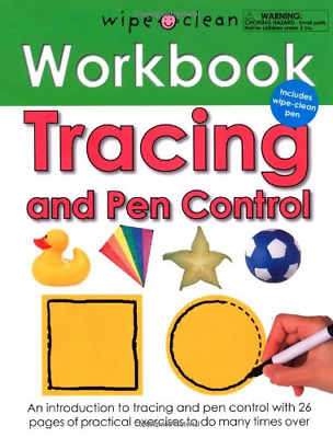 Tracing and Pen Control (Wipe Clean Workbooks), Priddy, Roger, Good Condition Bo