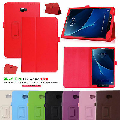 Leather Tablet Stand Flip Cover Case Samsung Galaxy Tab A 7 /A 10.1/ E 9.6 /3 /4