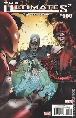 Ultimates 2 (Marvel) #100A 2017 NM Stock Image