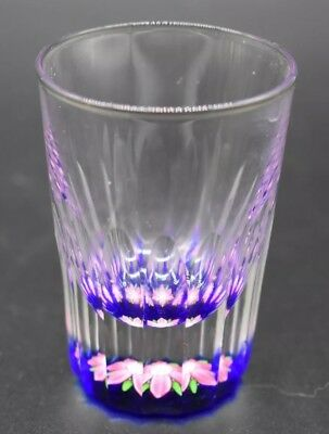"Perthshire Scottish Art Glass milifiori Paperweight Mugbase 2 3/4"" Shotglass"