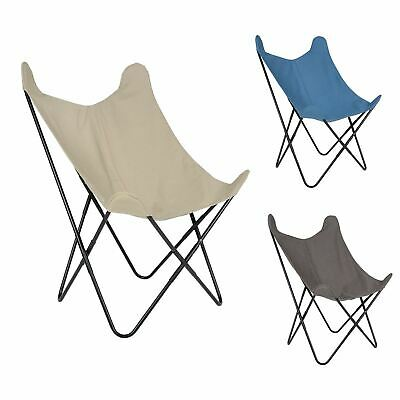 Butterfly Chair Canvas Lounge Seat For Indoor & Outdoor Use Garden Home Decor