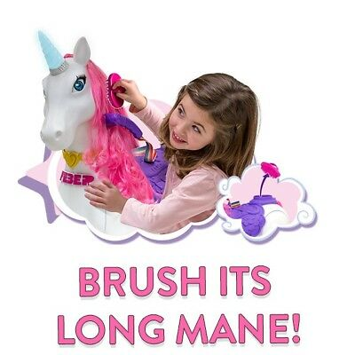 Feber My Lovely Ride On Unicorn 12V Indoor or Outdoor Includes Free Brush Pink
