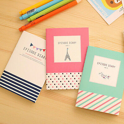 Cartoon Diary Planner Notepad Notebook Write Paper Handy Memo Journal Stationery