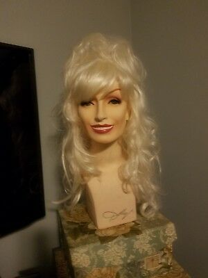 Dolly Parton Mannequin Head From Dolly's Wig Line