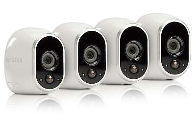 Arlo VMS3430-100NAS Wireless Home Security Camera System with Motion Detection