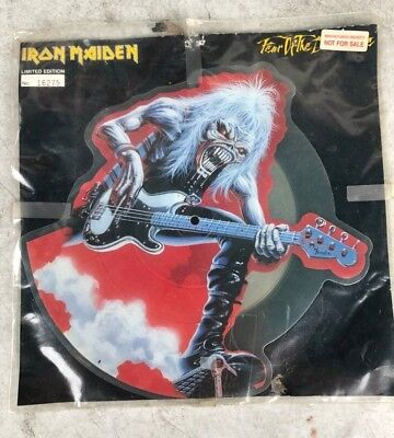 "Iron Maiden: Fear Of The Dark Live 1993 RARE Vinyl 7"" Picture Disc Record"