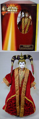 Star Wars Hasbro portrait edition Episode I QUEEN AMIDALA RED GOWN