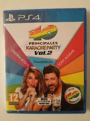 PS4 - Los 40 Principales Karaoke Party Vol. 2 Singstar