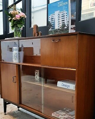G PLAN STYLE Bookcase Cabinet Danish Style Mid Century DELIVERY