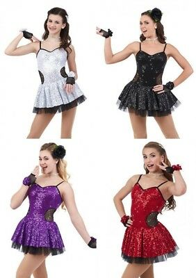 Fashionista Dance Costume Tap Ice Skating Ballet Dress New CHOICE Child & Adult