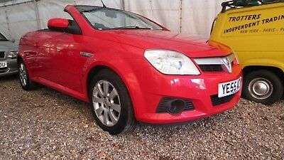2005 55 PLATE VAUXHALL TIGRA 1.4i COUPE CONVERTIBLE CHEAP CLEAN SOFT TOP CAR