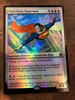 Clark Kent Superman Marvel Magic The Gathering MTG card Planeswalker Stan Lee