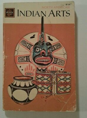 NORTH AMERICAN INDIAN ARTS Golden Guide WHITEFORD 1970 Western Pub Golden Press