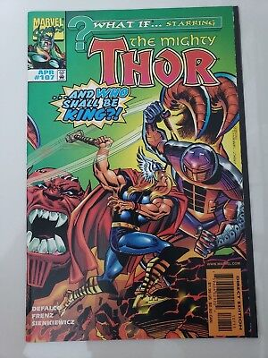 What If... Starring The Mighty Thor #107 (1998) Marvel Comics Asgard! Destroyer!