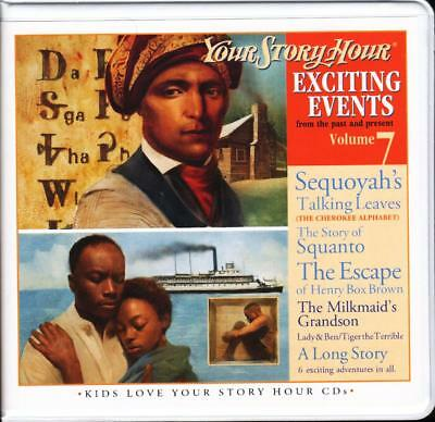 New YOUR STORY HOUR EXCITING EVENTS Series Volume 7 3-CD Audio Set Homeschool