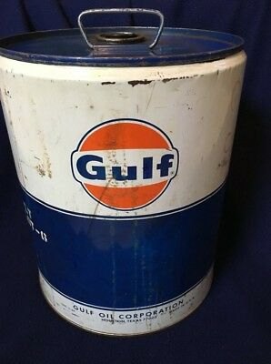 Gulf Oil Corp - 5 Gallon Gas Can (Vintage) - Pick Up Only, Phila Pa Area