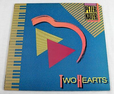 Peter Kater 1986 Due Cuori Album LP Vinile Smooth Jazz Musica NM/NM PDK4001