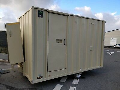groundhog gp360d towable welfare unit site cabin toilet canteen £4999+vat