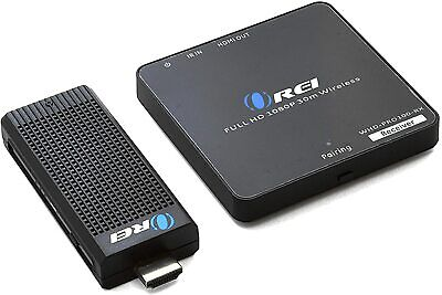 Orei Wireless HDMI Extender Transmitter & Receiver Dongle 1080P Kit Up to 100 ft