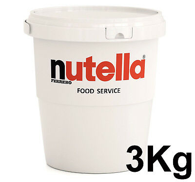 Nutella Chocolate Hazelnut Spread 3kg Catering Tub