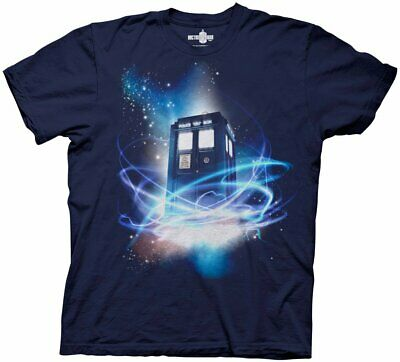 Doctor Who Tardis In Space T-Shirt Navy