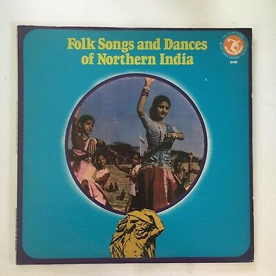Folk Songs Of Northern India ~ Olypic Lp ~ Traditional Ethnic Folk