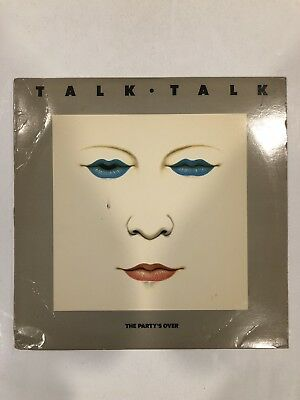 Talk Talk The Partys Over 33 Lp Emi Records 1982