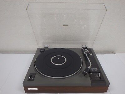 PIONEER PL-112D Belt Drive Stereo Turntable w/Audio Technica Cartridge & Stylus