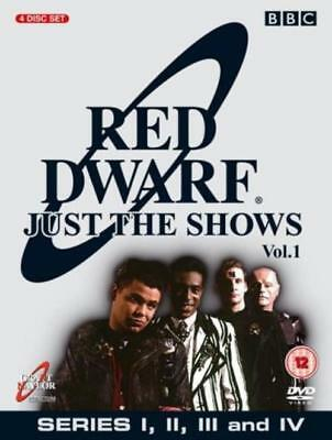 Red Dwarf: VoL. 1 - Series I II III IV (DVD, 2004, REGION 2&4) NEW