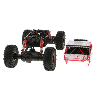 Racing 1:18 Blackout 4WD Electric Monster Truck RTR Red Chassis