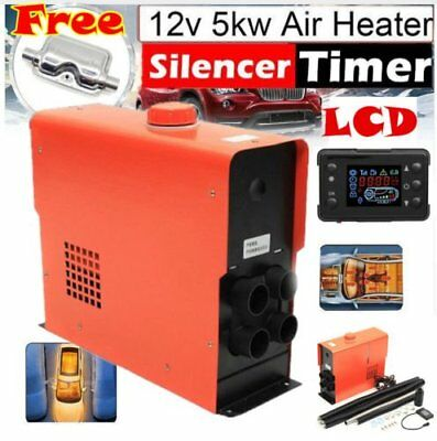5KW 12V All in one Air Diesel Heater LCD for Truck, Motor-homes,Boats,Van AU