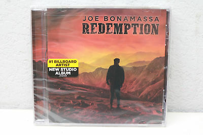 Joe Bonamassa Redemption Album Audio CD J&R Adventures Blues 2018 NEW