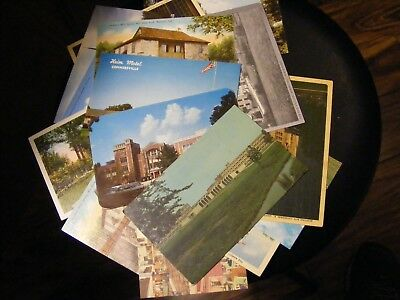 Lot of 15 Mostly Unused Vintage Souvenir/Travel Postcards, Early 20th century