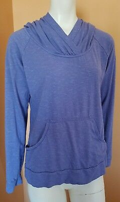 Women's COLUMBIA Hiking Camping Outdoor Long Sleeve Hooded Sweatshirt Size L