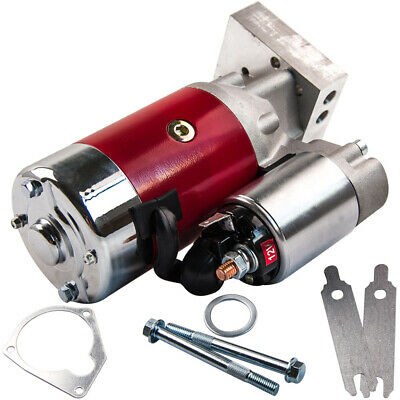 "For Chevy SBC 350 BBC 454 10"" 153T 11"" 168T Mini Muscle 4Hp Starter Motor 18493"