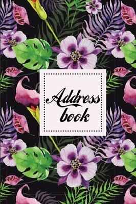 "Address Book Small Address Book - Address Book With Tabs - 6""x9"" Over 300+ Fo..."