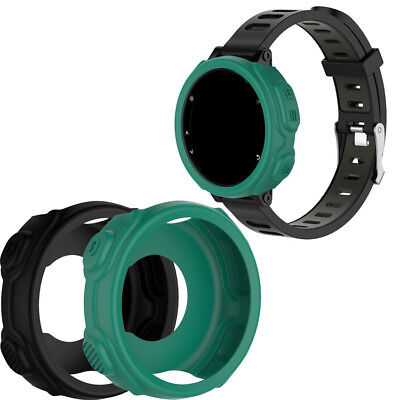 Silicone Band Anti-dust Strap Case Cover for Garmin Forerunner 235 735XT Watch