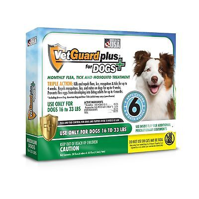 VetGuard Plus Flea & Tick Treatment for Dogs - Flea and Tick Prevention for Dogs
